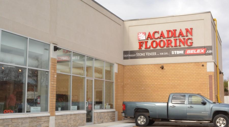 Hardwood flooring showroom markham ontario for Acadian flooring